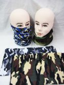 36 Units of Mens Tube Scarf Camo - Winter Scarves
