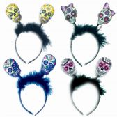 120 Units of Skull Headband - Costumes & Accessories