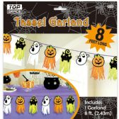 48 Units of Eight Foot Tassel Garland - Halloween & Thanksgiving