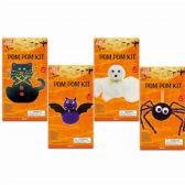 144 Units of Halloween Pompom Kit - Halloween & Thanksgiving