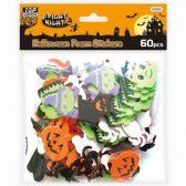 144 Units of Halloween Foam Sticker - Halloween & Thanksgiving