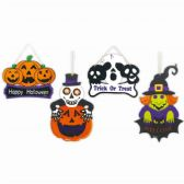 96 Units of Halloween Hanging Decoration - Halloween & Thanksgiving
