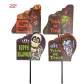 144 Units of Yard Stick Assorted Halloween Design - Halloween & Thanksgiving