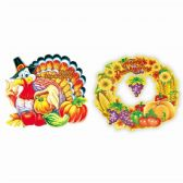 96 Units of Thanksgiving Three D Cutout - Halloween & Thanksgiving