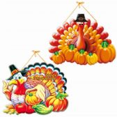 96 Units of Sixteen Inch Thanksgiving Plaque - Halloween & Thanksgiving