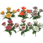 144 Units of Flower Assorted Colors - Artificial Flowers