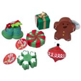 78 Units of Christmas Dog Toy Vinyl W. Squeaker - Pet Accessories