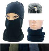 24 Units of Fleece Multipurpose Face/Neck Warmer - Winter Beanie Hats