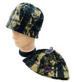 24 Units of Hardwoods Camo Fleece Beanie - Winter Beanie Hats
