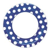 144 Units of Nine Inch Eight Count Plate Dark Blue - Party Paper Goods