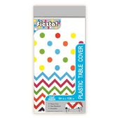 144 Units of Table Cover Colorful Polka Dot - Party Paper Goods