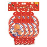 144 Units of Birthday Blow Out For Boys - Party Favors