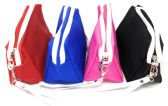 48 Units of Assorted Colors Cosmetic Zipper Wristlet Bag - Cosmetic Cases