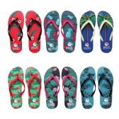 96 Units of Women's Assorted Palm Tree & Beach Flip Flop - Women's Flip Flops