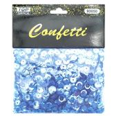 144 Units of Sequins Pastel Blue - Craft Glue & Glitter