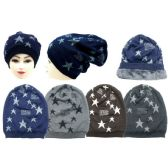 36 Units of Winter Beanie Hat With Fur Lining - Winter Beanie Hats
