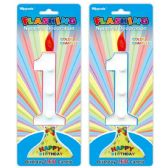144 Units of Number One Led Candle - Birthday Candles