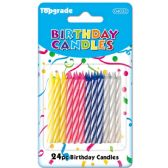 144 Units of Twenty Four Count Birthday Candle - Birthday Candles