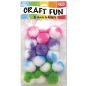 144 Units of Twelve Count Pom Pom - Craft Stems
