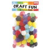 144 Units of Fuzzy Ball Eighty Pack - Craft Stems