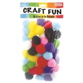 144 Units of Fuzzy Ball - Craft Stems