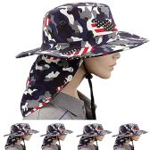 24 Units of Men's Summer Fishing Hat - Cowboy & Boonie Hat
