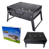 3 Units of PORTABLE GRILL BLACK LARGE - BBQ supplies