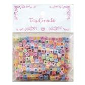 144 Units of Acrylic ABC Beads - Craft Beads
