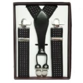 12 Units of Pattern Suspenders - Suspenders