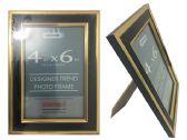 48 Units of Black &Gold Desinger Trend Photo Frame 4x6 - Picture Frames