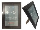 48 Units of Dark Brown Desinger Trend Photo Frame 4x6 - Picture Frames