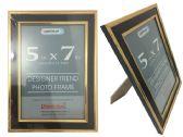48 Units of Black &Gold Desinger Trend Photo Frame 5x7 - Picture Frames
