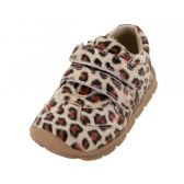 24 Units of Toddlers Velcro Upper Sneakers ( *Leopard Print - Toddler Footwear