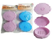 24 Units of 2pc Soap Dishes - Soap Dishes & Soap Dispensers