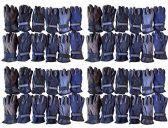 Value Pack of SOCKSNBULK Unisex Warm Winter Fleece Gloves, Many Colors, Mens Womens, One Size (48 Pack Assorted) - Winter Gloves