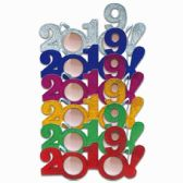 144 Units of Happy New Year Glasses 2019 - New Years