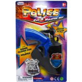 96 Units of CLICKING TOY GUN WITH HOLSTER AND BADGE IN BLISTER CARD - Toy Weapons