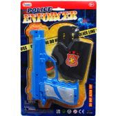 96 Units of POLICE ENFORCER CLICKING TOY GUN WITH ACCESS IN CARD - Toy Weapons