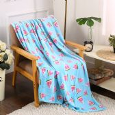 24 Units of Watermelon Printed Fleece Blankets Size 50 x 60 - Fleece & Sherpa Blankets