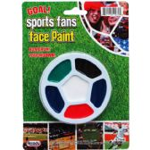 144 Units of FACE PAINT KIT ON BLISTER CARD - Costumes & Accessories