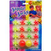 108 Units of PLASTIC JUMBO JACKS PLAY SET ON BLISTER CARD - Light Up Toys