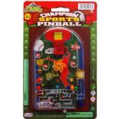 144 Units of MINI SPORTS PINBALL GAME ON BLISTER CARD - Magic & Joke Toys