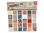 18 Units of Bramble Rose NO. 2 Craft Paper Pad - Craft Kits