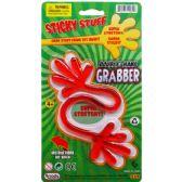 108 Units of STICKY DOUBLE HAND GRABBER ON BLISTER CARD - Magic & Joke Toys