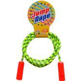 108 Units of SKIPPING JUMP ROPE WITH PEGABLE HEADER CARD - Jump Ropes