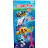 96 Units of FISHING GAME WITH ROD ON BLISTER CARD - Toy Sets