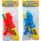 24 Units of NOZZLE WATER GUN WITH PUMP ACTION IN BAG - Water Guns