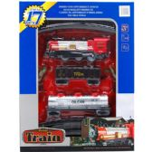 12 Units of TRAIN PLAY SET WITH SOUND IN OPEN BOX WITH COVER - Cars, Planes, Trains & Bikes