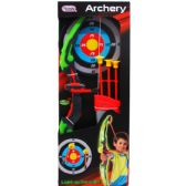 12 Units of ARCHERY PLAY SET WITH LIGHT - Toy Weapons