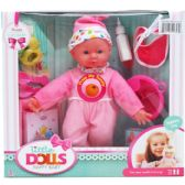 6 Units of BABY DOLL WITH SOUND AND ACCESSORIES IN WINDOW BOX - Dolls
